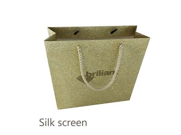 Glitter Paper Bag