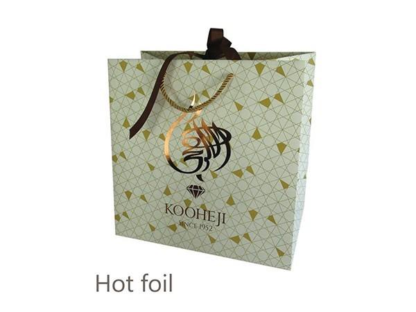 Papar Bag with Hot Foil
