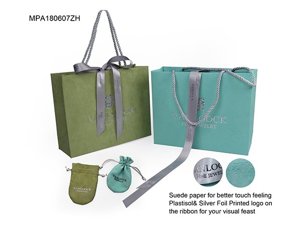 Suede Gift Bag