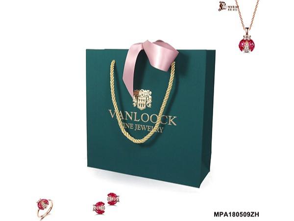 Dark Green Series Jewellery Gift Bag