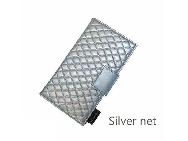 Diamond Quilting PU Jewellery Roll