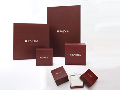 Jewelry Boxes Made of MDF and Printed Paper Covering