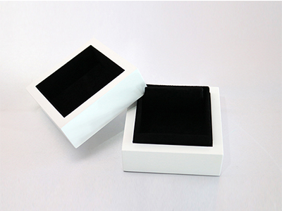 White Wooden Box