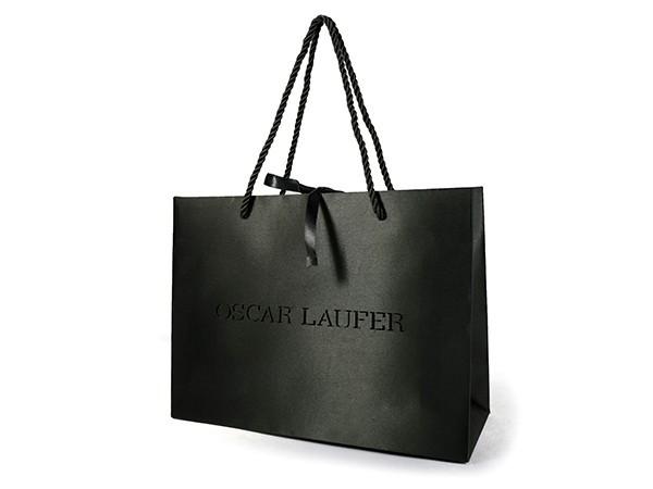 Black Satin Cloth Bag