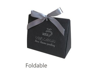 Folded washable paper bag