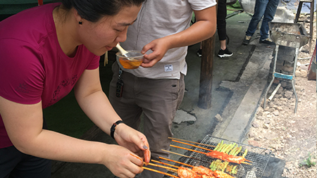 Multipack team are having a barbecue in May. 2018