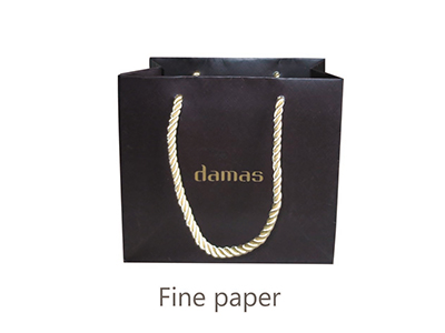 Pearl shell paper bag